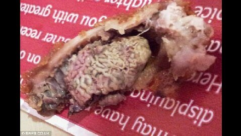 Student Opens his KFC Meal and Finds What Look Like Chicken Brains