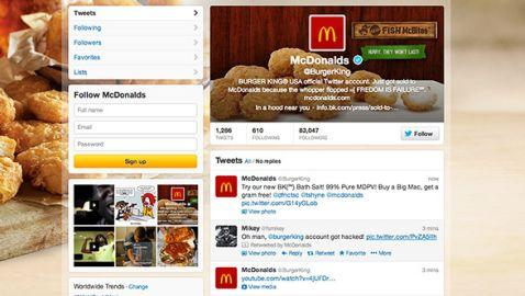 Twitter Account of Burger King Hacked