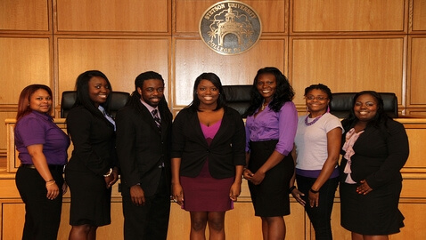Stetson's Black Law Students Association honored for community activism as Chapter of the Year for the Southern Region