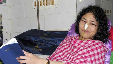 Woman from India Continues 12-Year Hunger Strike