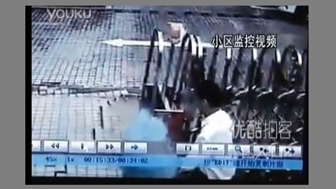 VIDEO: Sink Hole in China Devours Man Alive