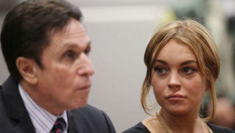 Lindsay Lohan Arrives Late to Court Hearing in L.A.