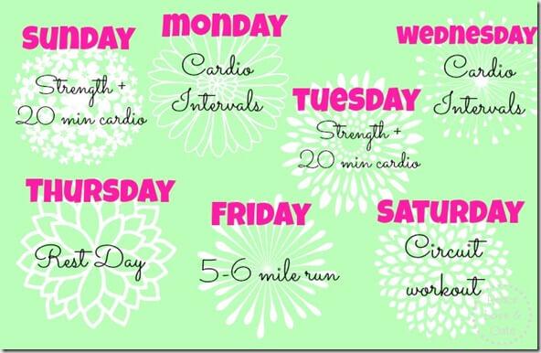 workout april 1