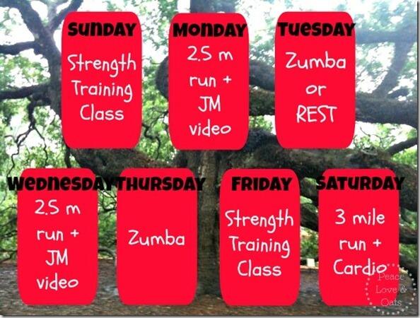 Weekly Workouts + Amaranth