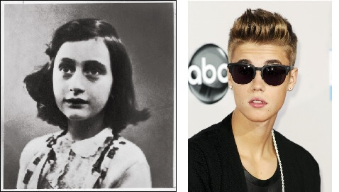 "Justin Bieber Visits Anne Frank's House, Signs Guestbook ""Hopefully She Would Have Been a Belieber"""
