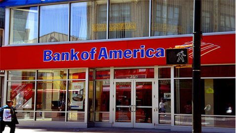 Earnings in Second-Quarter for Bank of America Drop by 43 Percent