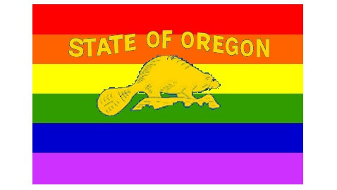 oregon gay flag