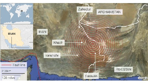 Iranian Earthquake Shakes the Middle East