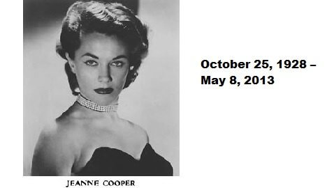 """The Young and the Restless"" Star Jeanne Cooper Dies"