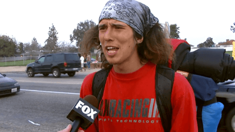 "Hero ""Hatchet Hitchhiker"" Hounded For Homicide"