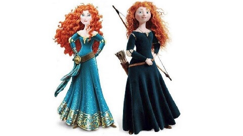 """""""Brave's"""" Merida Gets a Makeover, Upsetting Feminists and Others"""