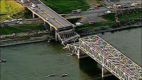 Skagit River Bridge Collapses in Washington State, Causing Injuries