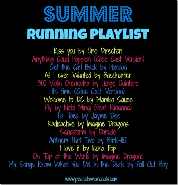 Share the Love & Summer Running