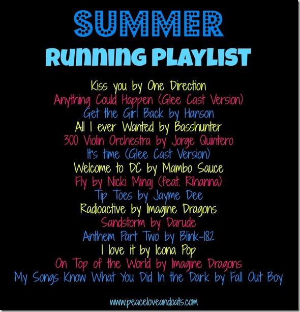 Share the Love & Summer Running