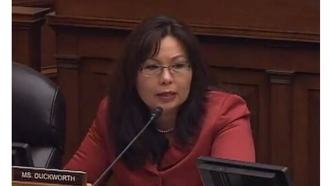 Veteran's Disability Fraud Gets Told Off by Tammy Duckworth in Words He will Never Forget