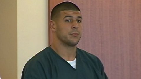 Aaron Hernandez Enters Not Guilty Plea on Wednesday in Suffolk County Court