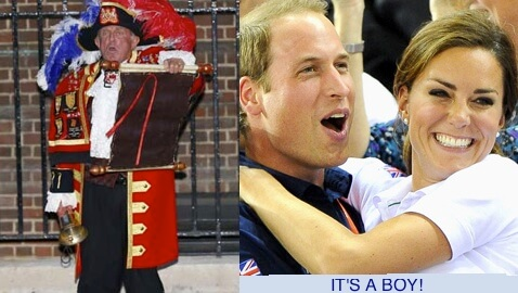 Kate Middleton's Baby Has Arrived