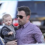 Ben Affleck and Wife Celebrate 8 Years, Baptize Son