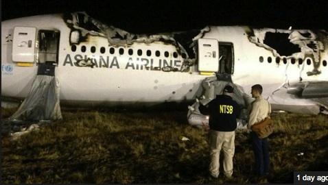 Asiana Airlines Crashes Boeing 777 at SFO