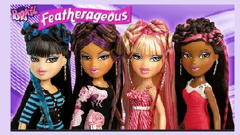 bratz, mattel, mga entertainment