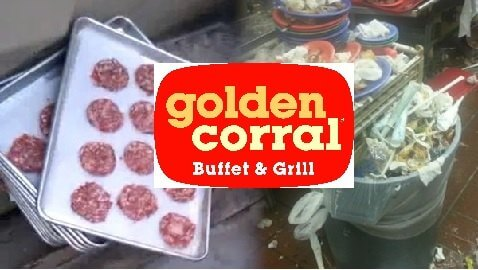 golden corral dumpster food
