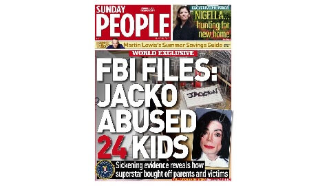 Tabloid's Accusations Against Jackson Bogus