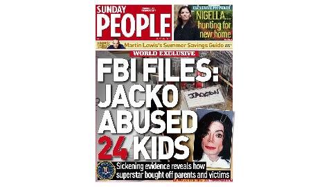 Tabloid's Accusations Against Jackson Bogus