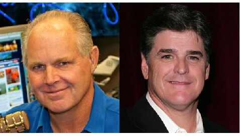 limbaugh and hannity