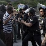 VIDEO: Zimmerman Verdict Protests Turn Violent