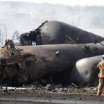 Runaway Oil Train in Canada Blows Up 30 Buildings — Over 15 Incinerated