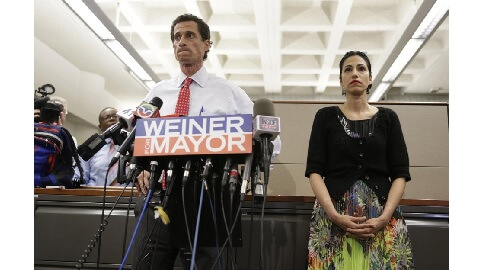 Anthony Weiner, His Wife, and the Life of a Political Spouse