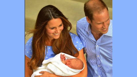 Royal Baby Name Announced: His Royal Highness George Alexander Louis