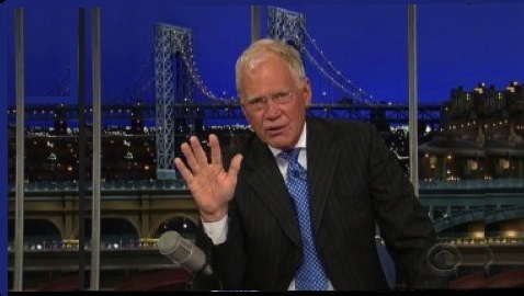 "David Letterman Spouts ""Facts"" about Fracking"