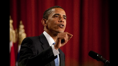 VIDEO: Obama Gaffes Speech