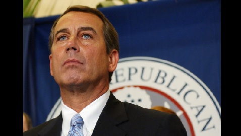 John Boehner Presses Bill: Either Obamacare is Shut Down, or the Federal Government