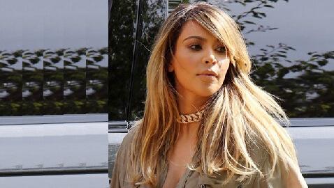 Kim Kardashian Goes Blonde!
