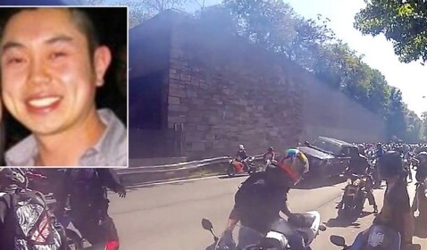 Driver Accidentally Hit Motorcyclist and Fled: Was Caught and Beat
