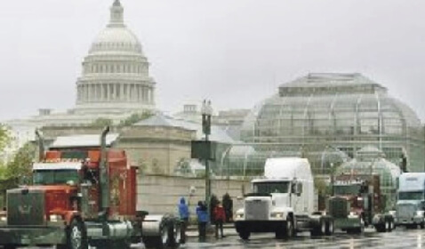 'Truckers for the Constitution' to Stop All D.C. Beltway Traffic in Planned Protest Against Current Political Situation
