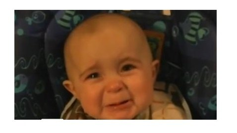 VIRAL VIDEO: Baby Moved to Tears by Mother's Singing