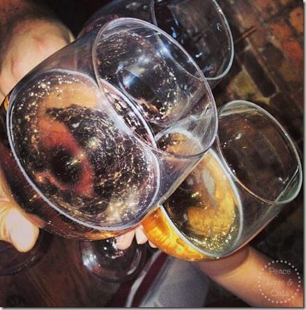bar exam celebrate champagne