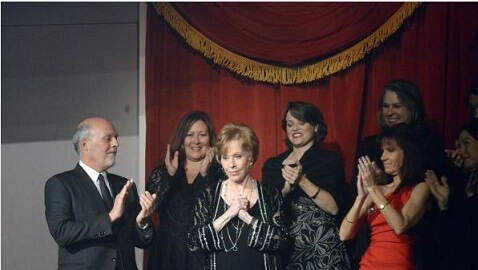 Funny Lady Carol Burnett Awarded Top Honors