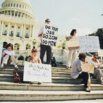Furloughed Workers Cheer as the Government Shutdown Ends