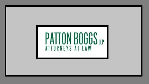 Patton Boggs Appears Headed for an End