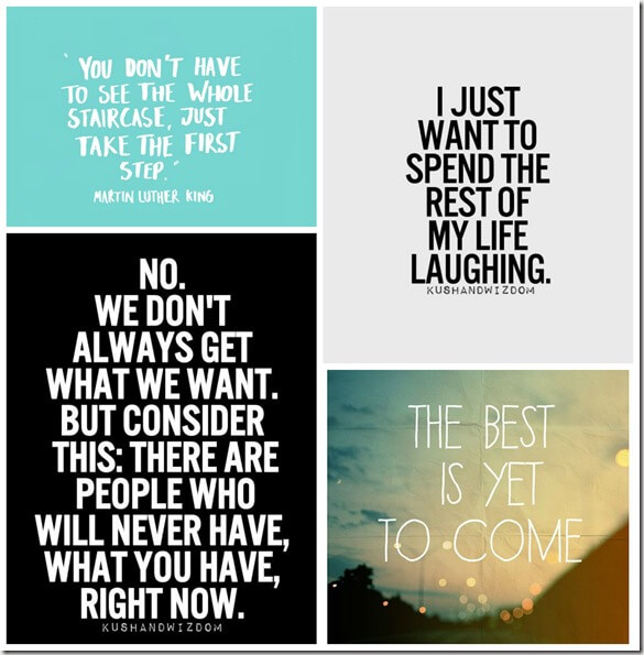 pinterest quote collage