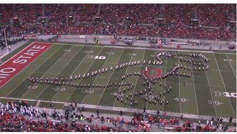 VIDEO: Ohio State's Marching Band Wows Us With Hollywood Montage