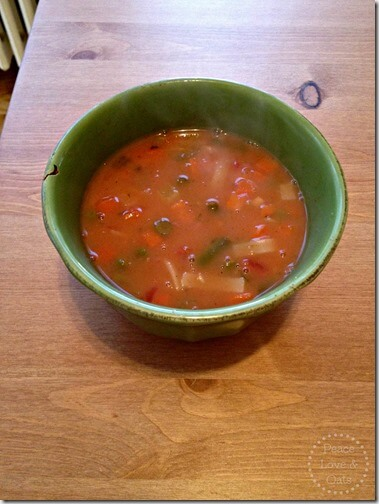 wiaw gluten free noodle soup