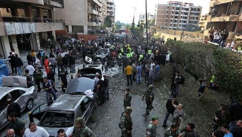 Double Suicide Bombing in Lebanon