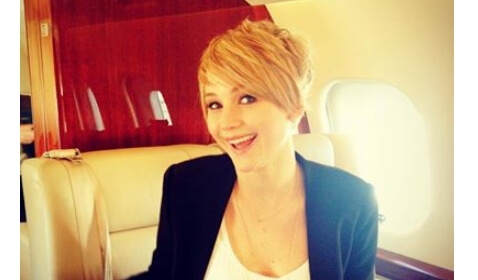 Jennifer Lawrence Cuts Her Hair