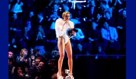 Miley Cyrus Living the High Life
