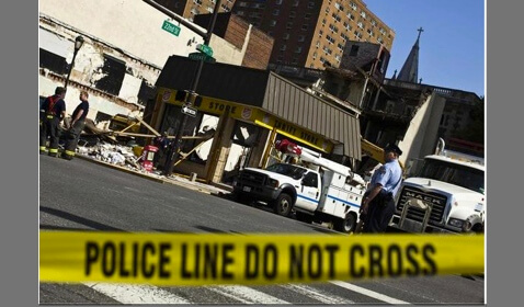 Philly Building Collapses with Half a Million in Damages